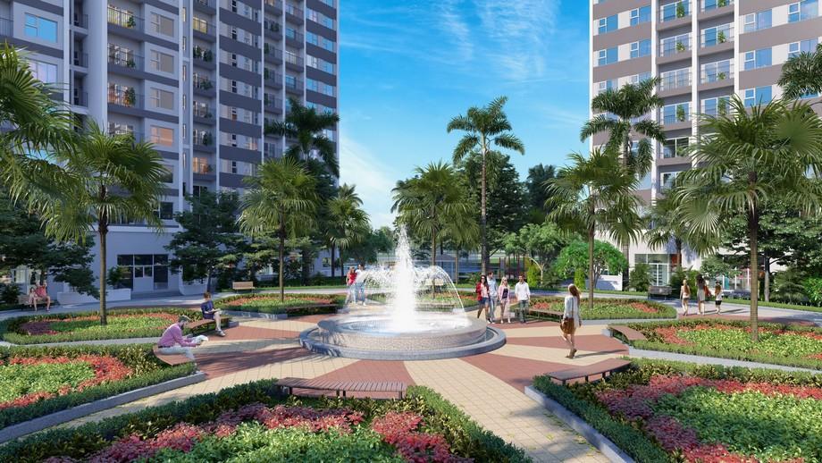 Quảng trường Horizon Square dự án Vinhomes New Center Hà Tĩnh