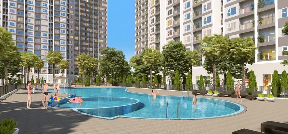 Bể bơi dự án Vinhomes New Center Hà Tĩnh