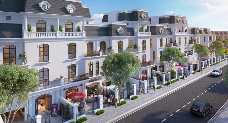 Phối cảnh nhà vườn dự án Vinhomes Star City