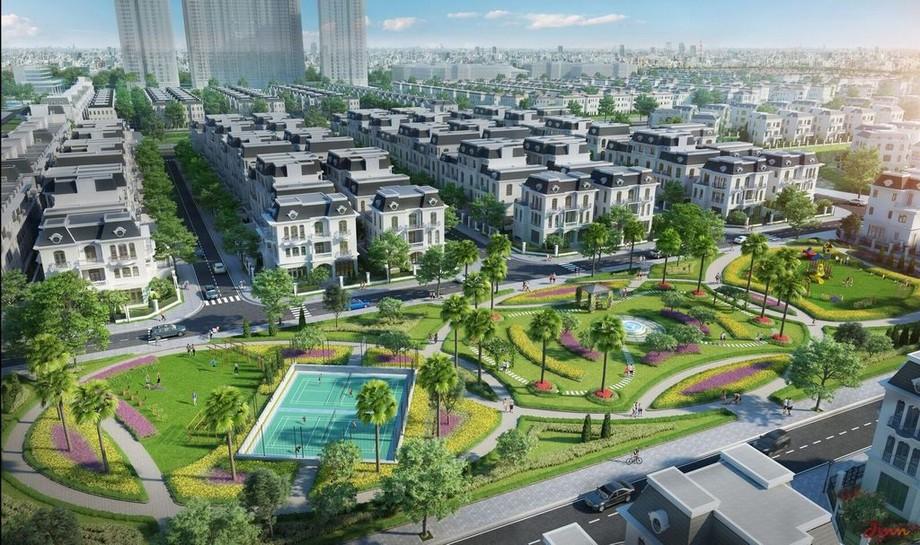 Đại lộ châu Âu dự án Vinhomes Star City