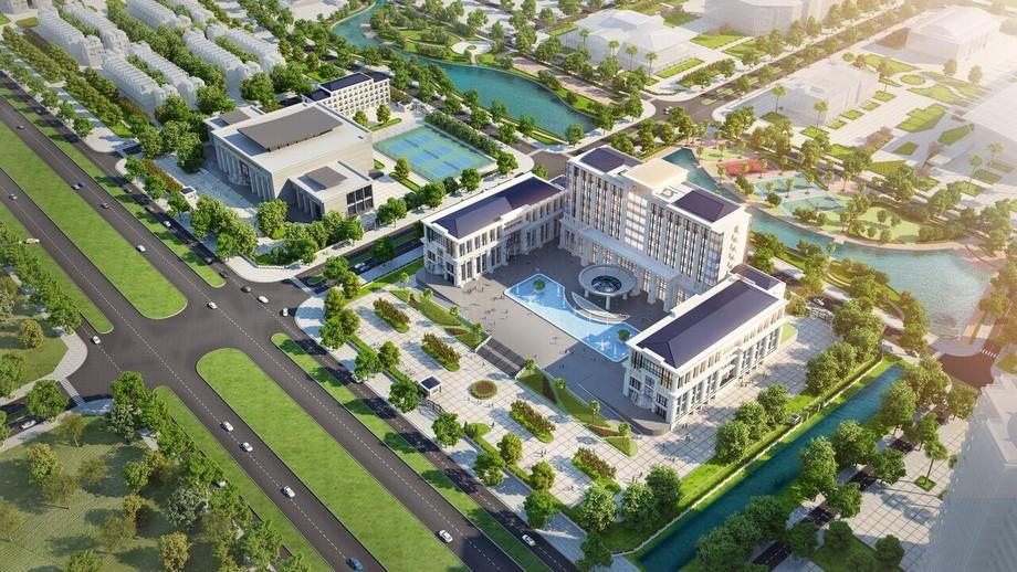 Tòa nhà hành chính thành phố Thanh Hóa dự án Vinhomes Star City