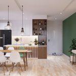 Tư vấn phương án thiết kế chung cư 70m2 đẹp phong cách Scandinavian