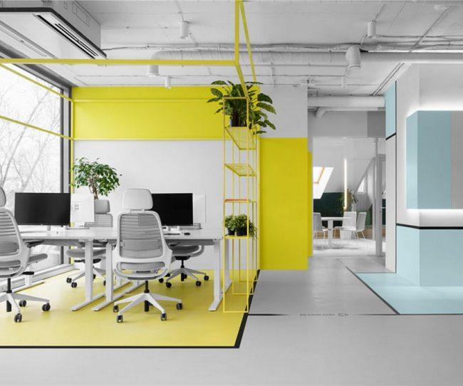 Ý tưởng trang trí nội thất văn phòng