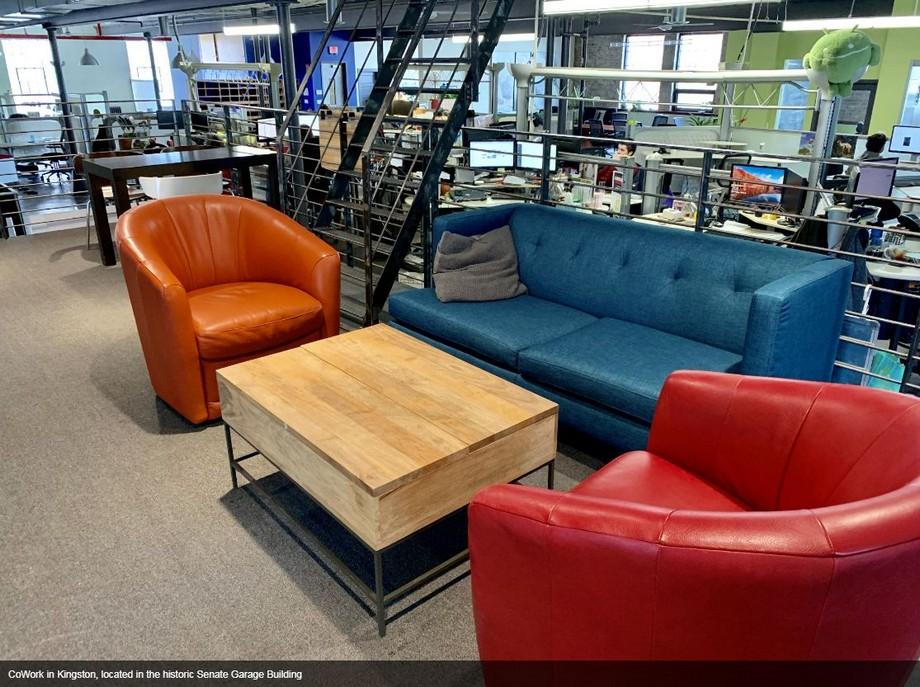Không gian làm việc chung tại Hudson Valley -CoWork Kingston