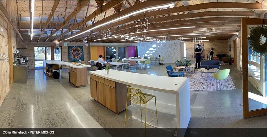 Không gian làm việc chung tại Hudson Valley - CO