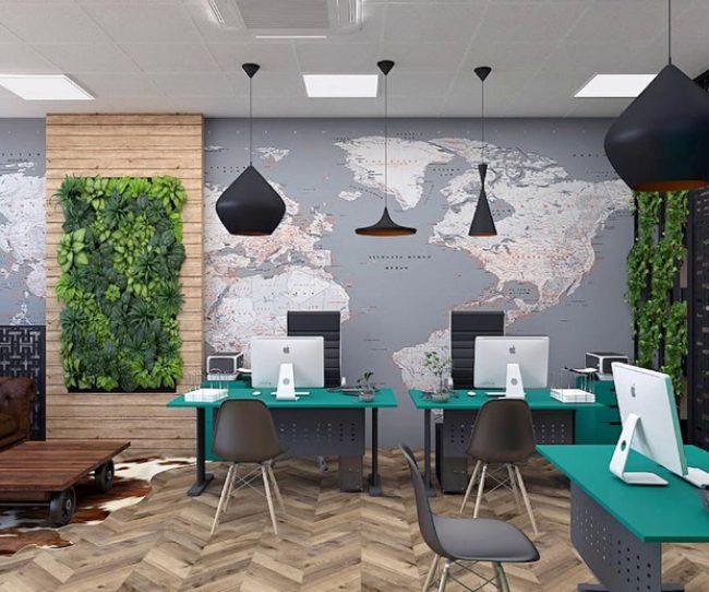 Thiết kế văn phòng du lịch