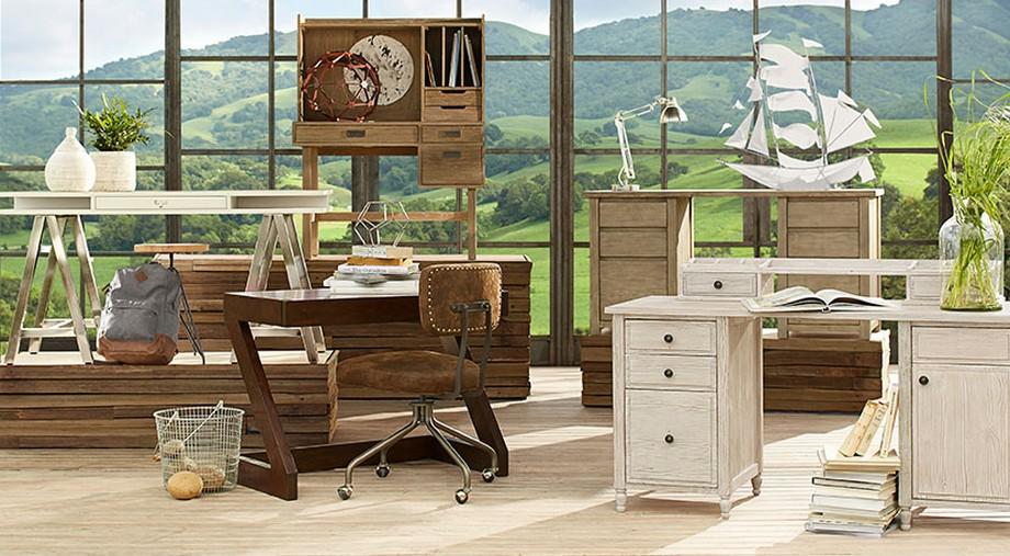Kích thước bàn làm việc phù hợp với không gian tại nhà