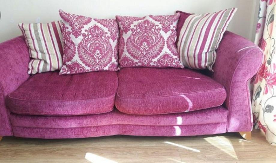 mẫu sofa nỉ êm ái và mềm mại