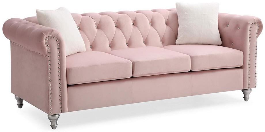 Ghế sofa văng với những mắt lưới kim cương sang trọng