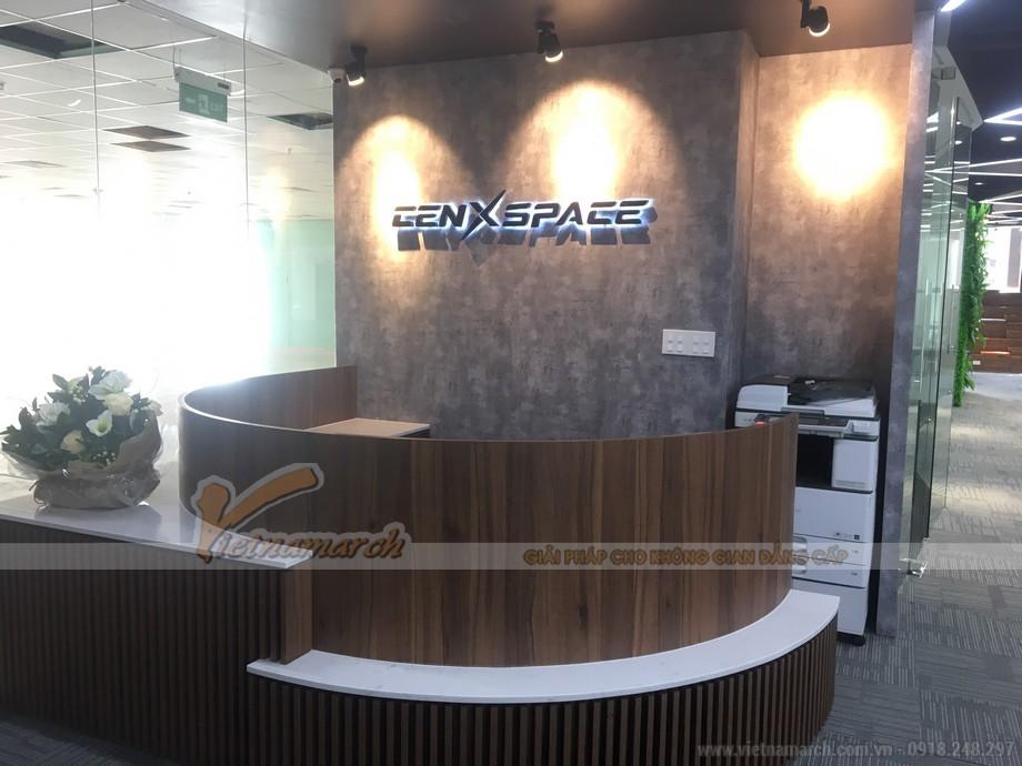 Nội thất văn phòng cenxpace sau khi hoàn thiện đẹp sáng tạo