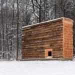 Khám phá mẫu thiết kế nhà thờ nhỏ bằng gỗ siêu ấn tượng từ những khối gỗ lớn