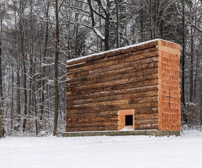 Thiết kế nhà thờ nhỏ bằng gỗ ấn tượng