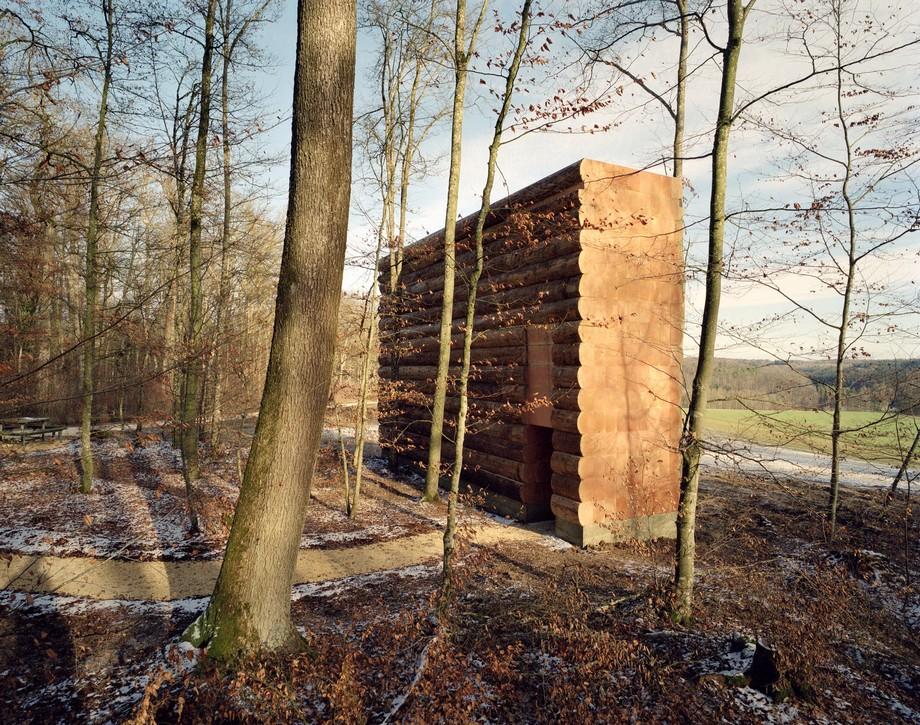 Thiết kế nhà thờ nhỏ bằng gỗ ấn tượng trong rừng