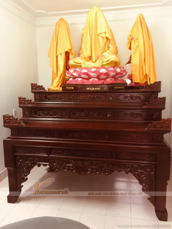 Mẫu bàn thờ tam cấp
