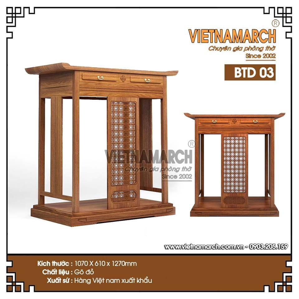 Cung cấp bàn thờ hiện đại cho chung cư cao cấp Keangnam Hanoi