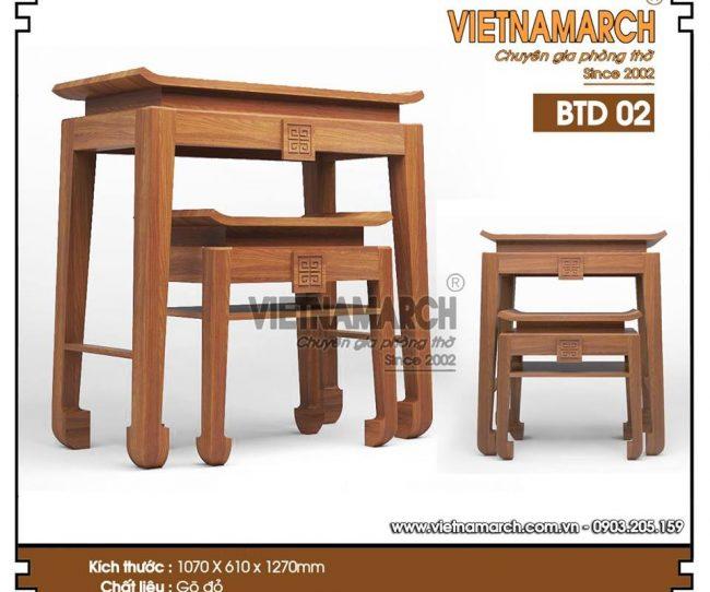 Chuyên cung cấp bàn thờ hiện đại cho chung cư cao cấp Keangnam Hanoi Landmark Tower Phạm Hùng