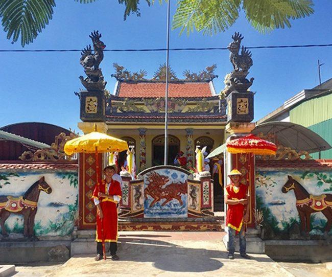Nhà thờ Nguyễn Nê tại Hà Tĩnh