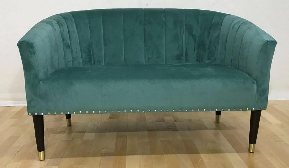 Mẫu sofa đôi phong cách tân cổ điển màu xanh độc đáo