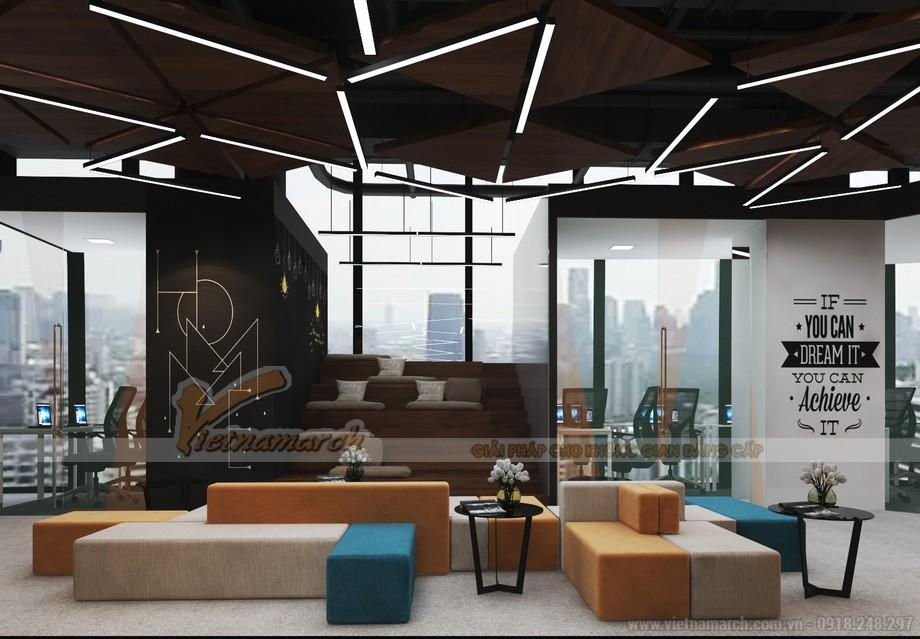 Bản vẽ thiết kế nội thất văn phòng
