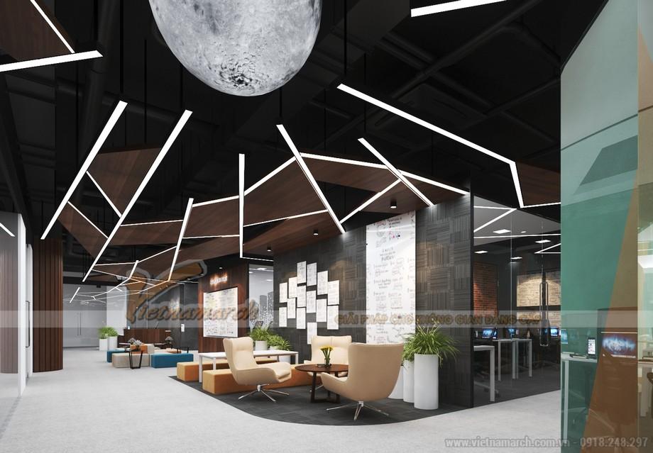 Thiết kế văn phòng coworking space Dolphin plaza Hà Nội