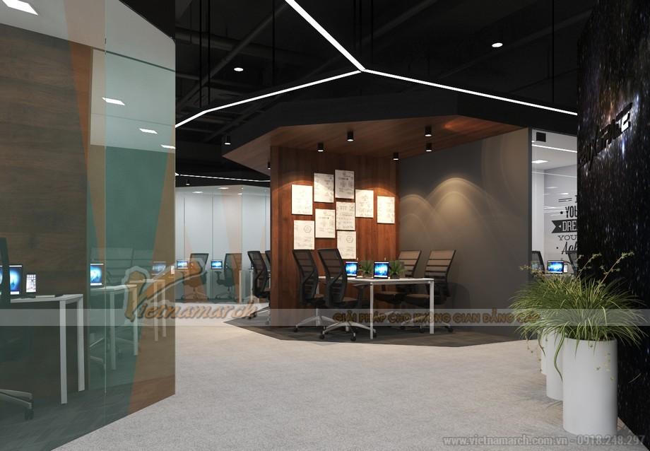 Bản vẽ thiết kế nội thất văn phòng coworking space dolphin