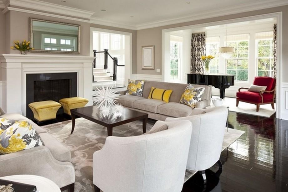 Đồ nội thất được lựa chọn tỉ mỉ, cẩn thận và bố trí hoàn hảo