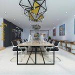 Thiết kế không gian văn phòng làm việc chung- coworking space sáng tạo tại quận Quận Hoàng Mai