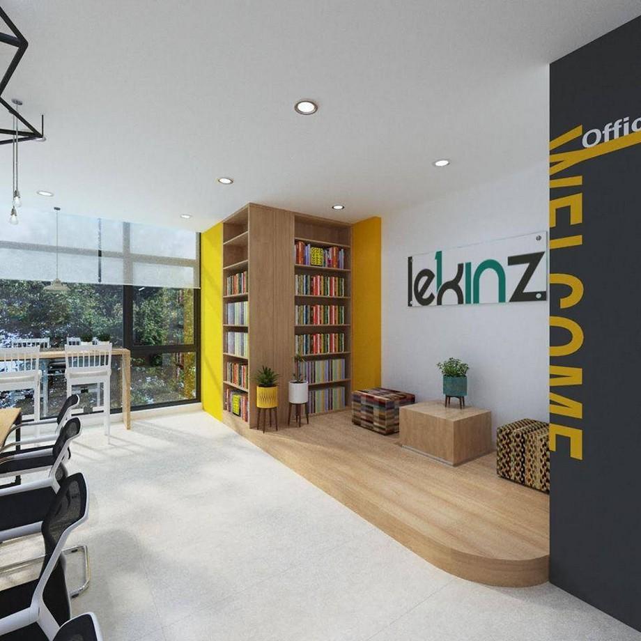 Thiết kế không gian làm việc chung sáng tạo tại Gamuda Hoàng Mai