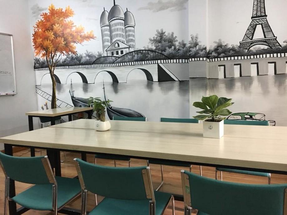 Thiết kế nội thất phòng làm việc của coworking space Thanh Xuân