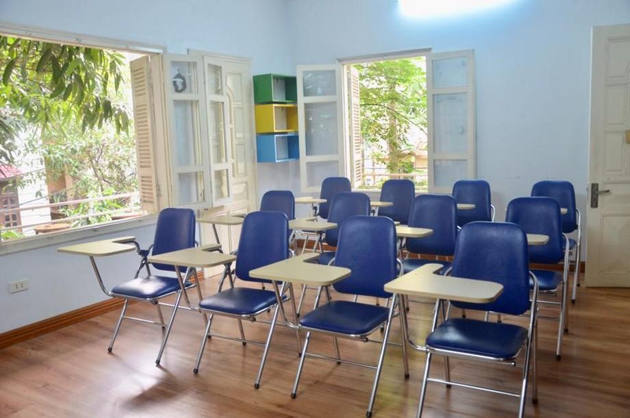 Thiết kế phòng họp trong coworking space Thanh Xuân