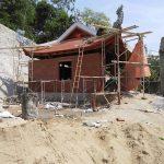 Thi công Nhà thờ họ Nguyễn Viết 4 mái cong gỗ lim tại Ninh Bình