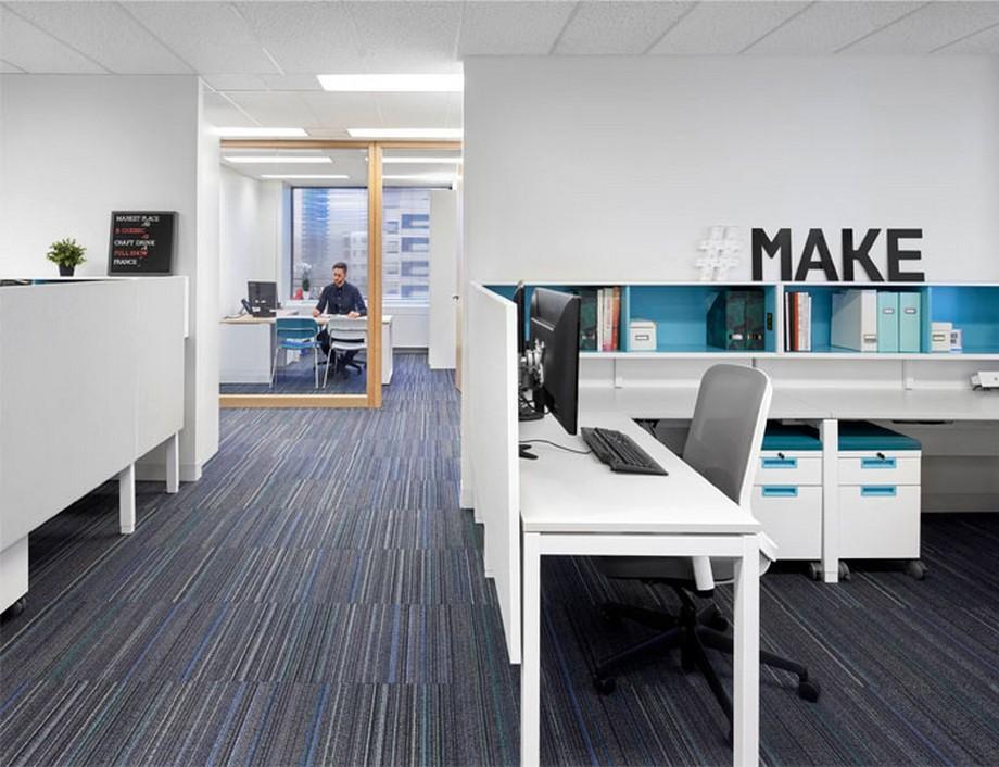 Tiêu chí thiết kế nội thất văn phòng cho không gian làm việc chung coworking space