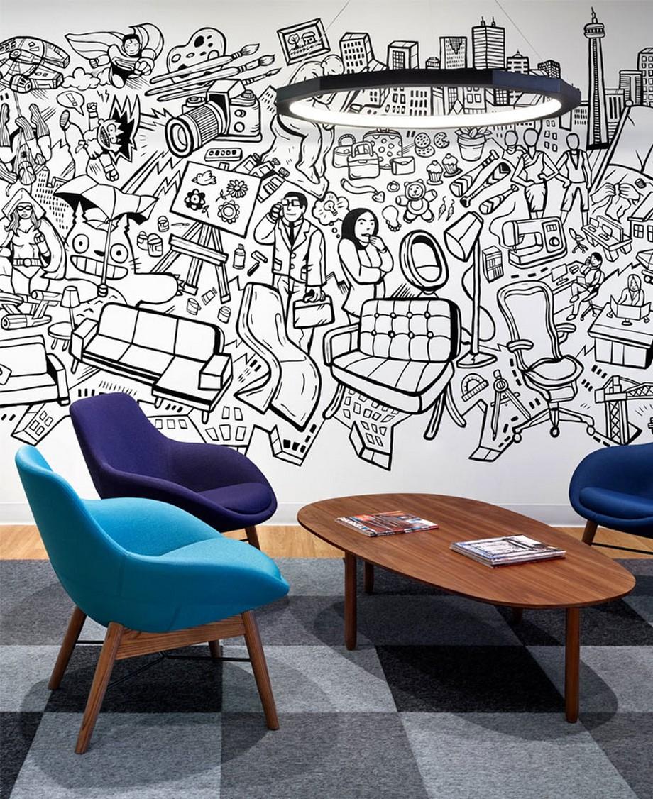 Thiết kế nội thất văn phòng công nghệ thông tin Informa ở Canada thú vị