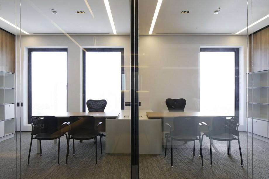 Thiết kế nội thất văn phòng luật tối giản, tạo không gian riêng tư