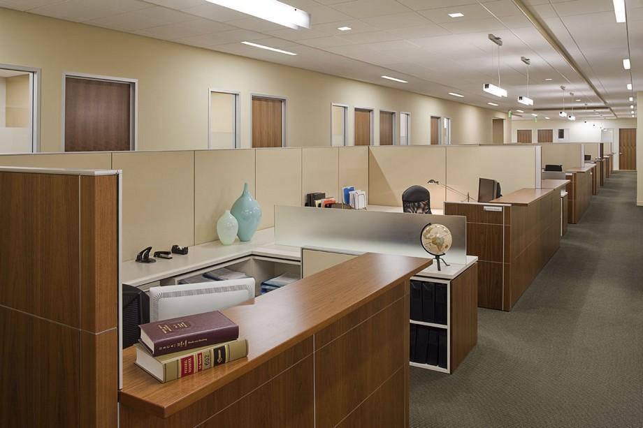 Thiết kế nội thất văn phòng luật tạo sự thoải mái những vẫn chuyên nghiệp
