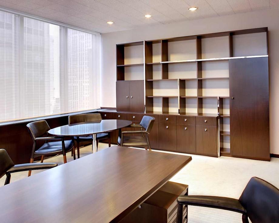Thiết kế nội thất văn phòng luật với những không gian tiếp khách riêng tư, chuyên nghiệp