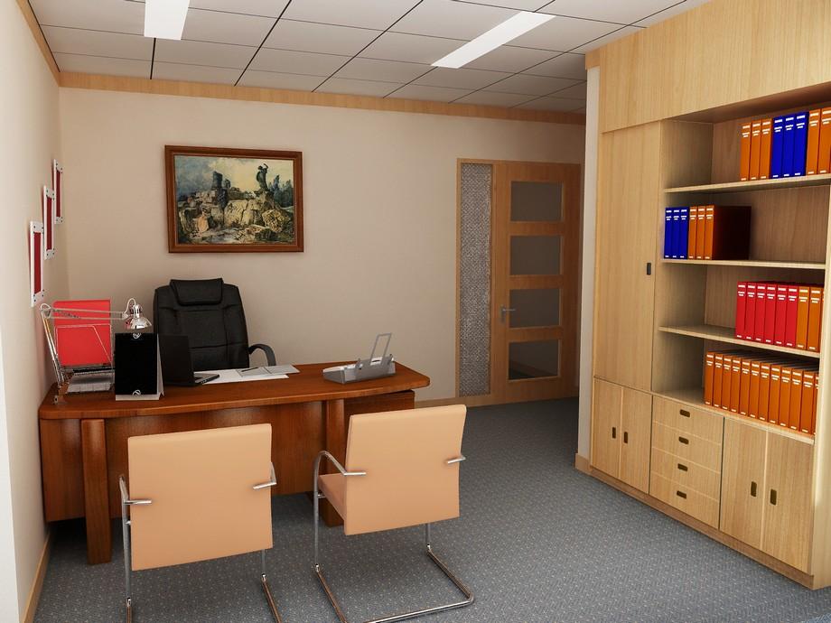 Vật liệu gỗ tự nhiên trong thiết kế nội thất văn phòng cho phòng giám đốc