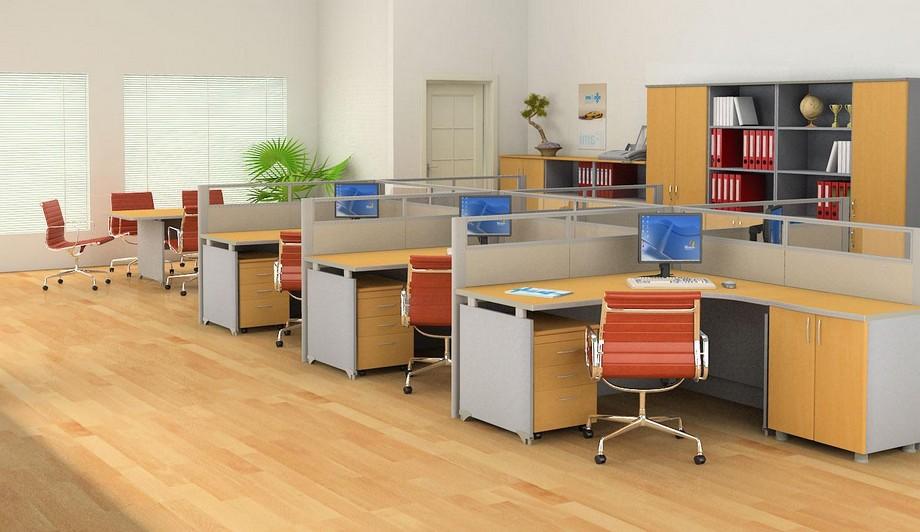 Vật liệu gỗ công nghiệp trong thiết kế nội thất văn phòng