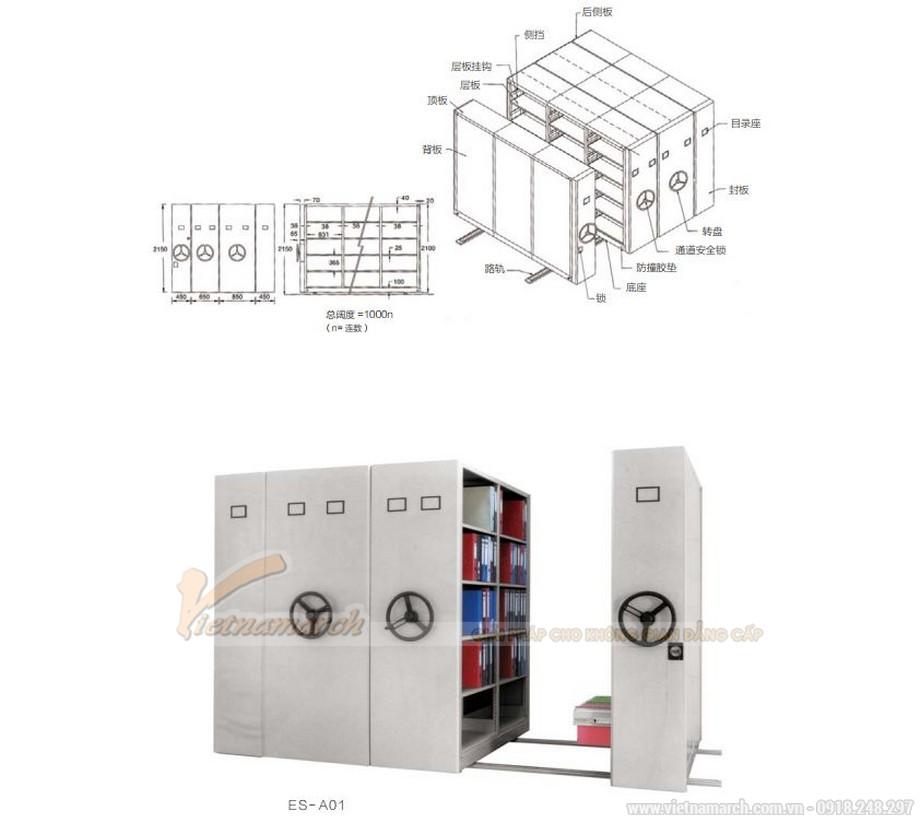 Mẫu tủ tài liệu văn phòng siêu đẹp cho văn phòng, không gian làm việc chung độc đáo