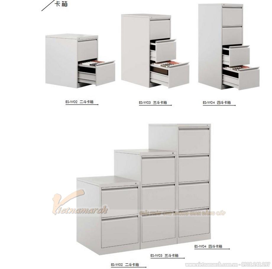 Mẫu tủ tài liệu văn phòng bằng kim loại siêu đẹp cho văn phòng, không gian làm việc chung