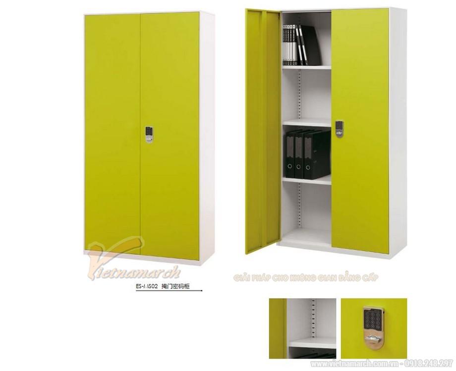 Mẫu tủ tài liệu văn phòng siêu đẹp có khóa điện tử cho văn phòng, không gian làm việc chung