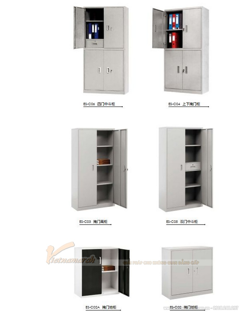 Mẫu tủ tài liệu văn phòng thiết kế truyền thống cho văn phòng, không gian làm việc chung