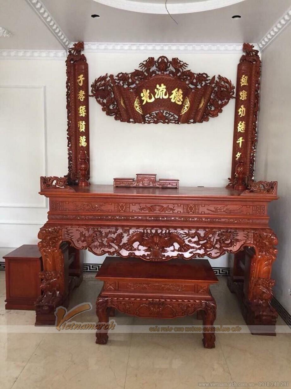 Bàn thờ cho nhà thờ họ tại Diễn Châu