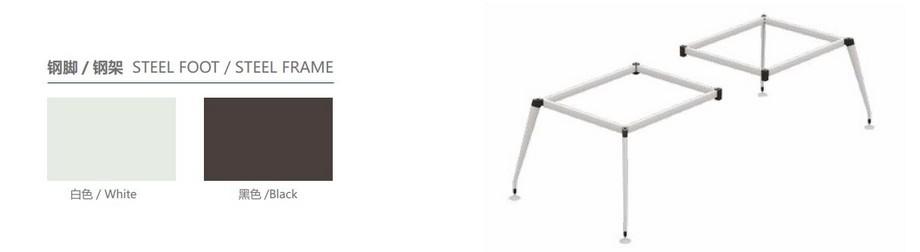 Mẫu bàn làm việc, bàn giám đốc lắp ghép hiện đại D30 cho văn phòng có kích thước phong phú phù hợp với nhu cầu làm việc