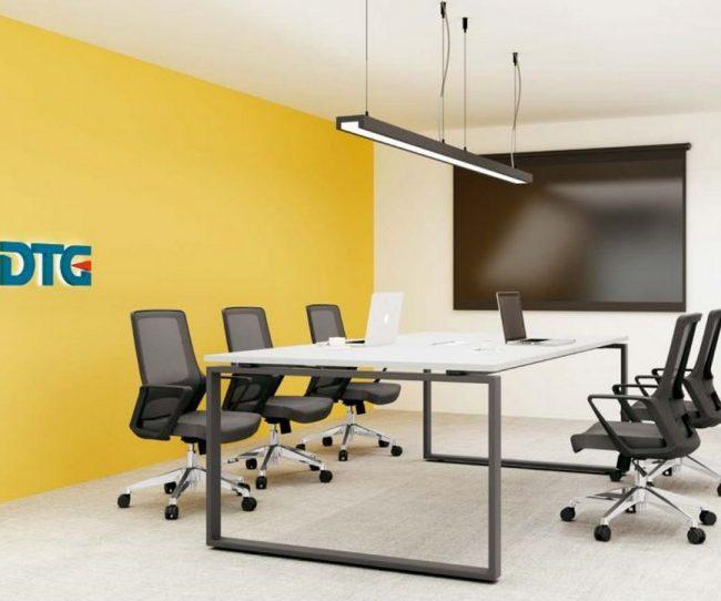 Mẫu bàn làm việc D275 hiện đại cho văn phòng, không gian làm việc chung