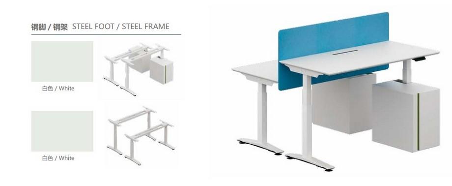 Mẫu bàn làm việc đa năng ấn tượng cho nội thất văn phòng hiện đại có thể lắp ghép dễ dàng