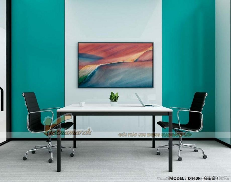 Mẫu bàn làm việc lắp ghép đa năng cho thiết kế văn phòng thông minh