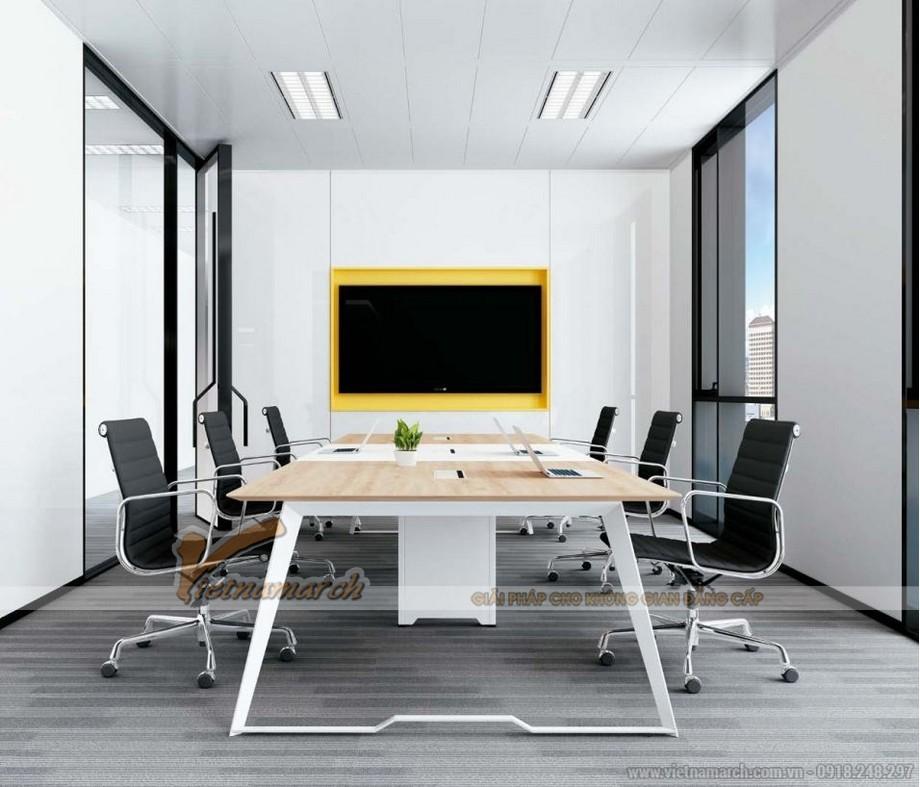 Mẫu bàn làm việc lắp ghép đa năng, hiện đại D10 cho phòng họp với chân bàn chắc chắn, hiện đại sơn màu trắng