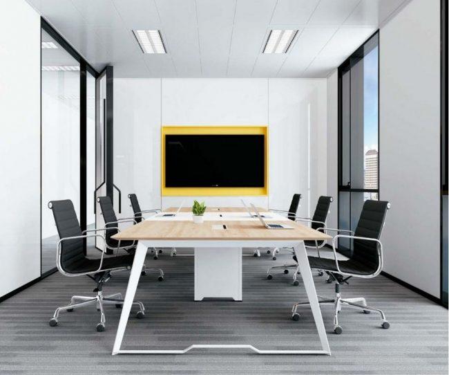 Mẫu bàn làm việc lắp ghép đa năng, hiện đại cho văn phòng D10