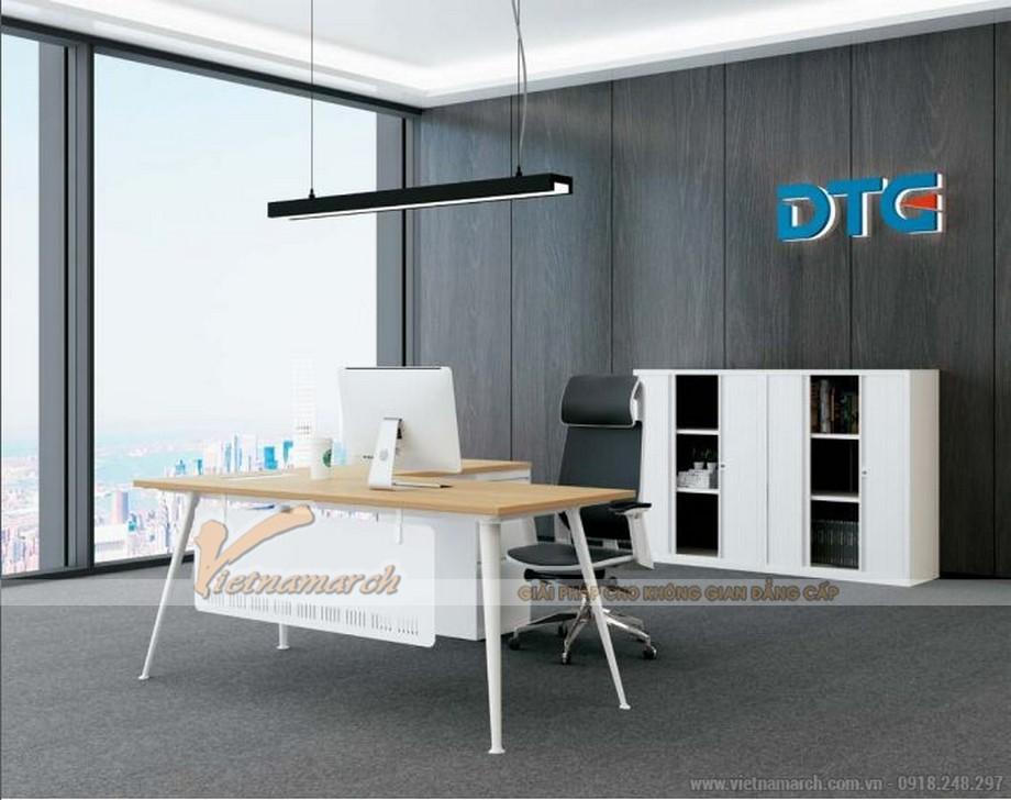 Mẫu bàn làm việc thông minh biến hóa đa dạng D40 cho văn phòng làm việc của giám đốc